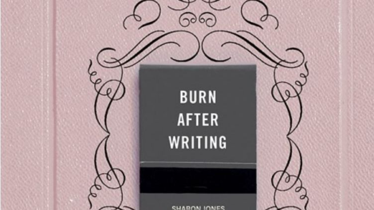 "La couverture de ""Burn After Writin"" de Sharon Jones  (éditions Contre-Dires)"