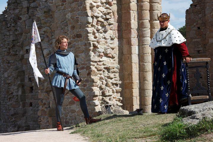 La légende deGilles de Rais au château de Tiffauges  (Château de Tiffauges)