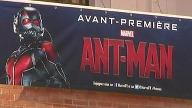 """""""Ant-Man"""", le film sur l'homme-fourmi présenté à... Fourmies"""