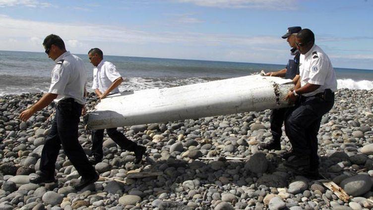(Le débris découvert fin juillet à La Réunion avait été transféré à Toulouse © MAXPPP)