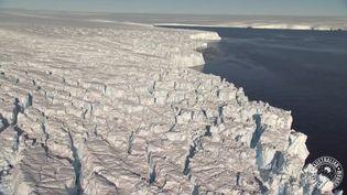 Le glacier Totten, en Antarctique. (AUSTRALIAN ANTARCTIC PROGRAM)