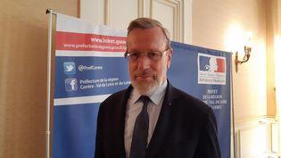 Pierre Pouëssel,le préfet de la région Centre-Val-de-Loire. (ANTOINE DENÉCHÈRE / FRANCE-BLEU ORLÉANS)
