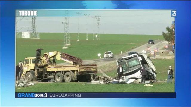Eurozapping : un nouvel attentat en Turquie