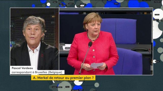 À la tête de l'UE, Angela Merkel a fort à faire
