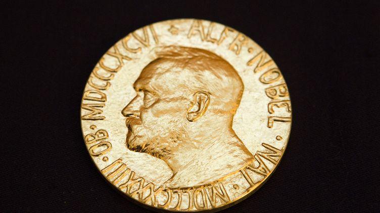 La médaille du prix Nobel de la paix. (BERIT ROALD / SCANPIX NORWAY)