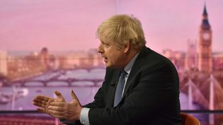 Boris Johnson, interviewé par la BBC le 1er décembre 2019.  (JEFF OVERS / BBC)