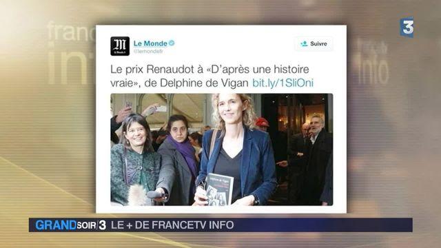 Le Renaudot à Delphine de Vigan