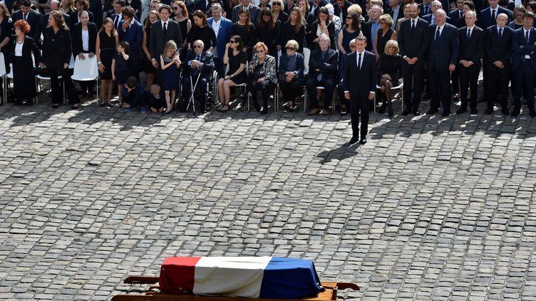 Un hommage national a été rendu à Simone Veil mercredi 5 juillet. (ALAIN JOCARD / AFP)