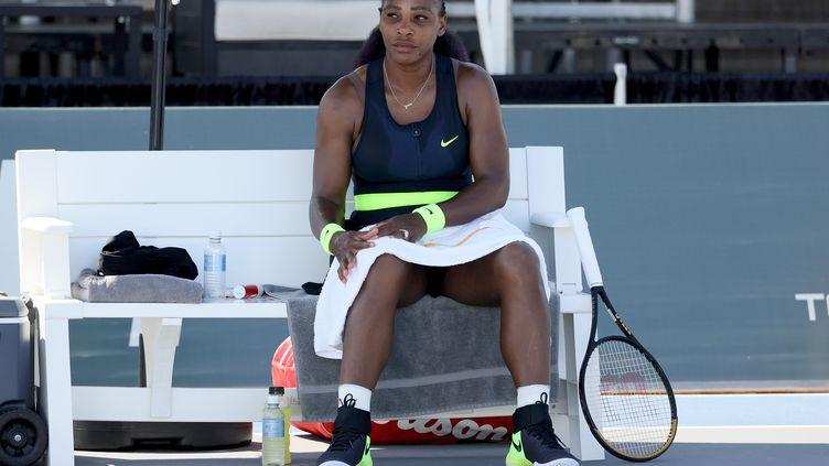 Serena Williams n'a pas brillé à Lexington (DYLAN BUELL / GETTY IMAGES NORTH AMERICA)