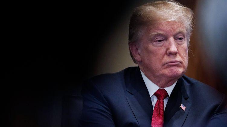 DonaldTrump, le 6 février 2018, à Washington. (MANDEL NGAN / AFP)