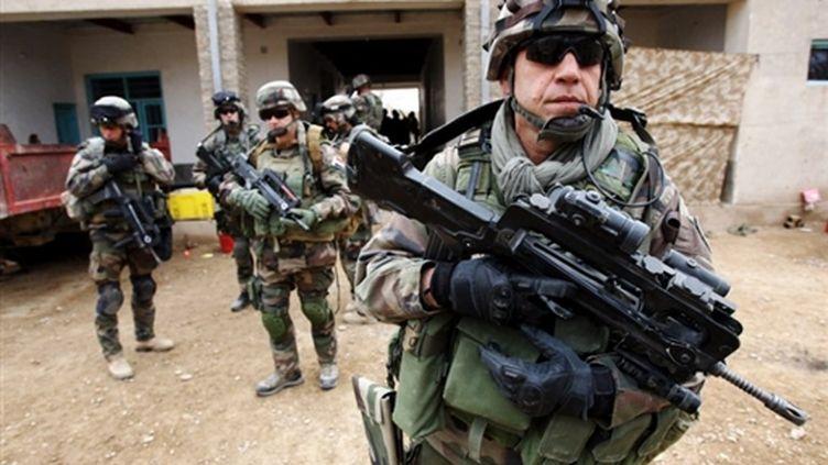 Militaires français en opération dans la province du Helmand, au sud-ouest de l'Afghanistan (archives février 2010) (AFP / Thomas Coex)