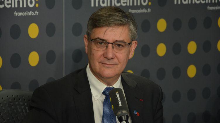 Guillaume Denoix de Saint Marc, porte-parole et directeur général de l'AFVT (Association française des Victimes de Terrorisme). (JEAN-CHRISTOPHE BOURDILLAT / RADIO FRANCE)