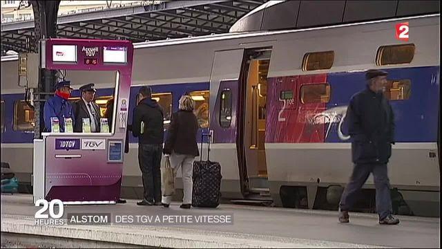 Alstom : l'État pourrait acheter 16 rames TGV