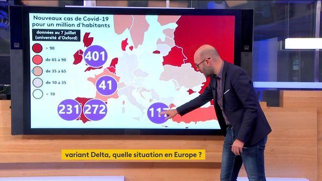 Variant Delta : les mesures se multiplient en Europe