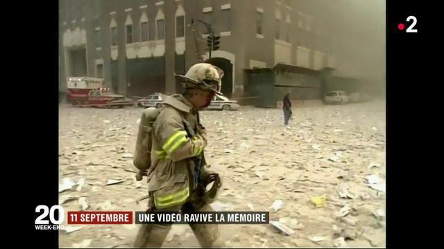 11-Septembre : des images des attentats resurgissent 17 ans après