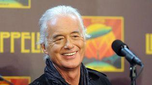 Jimmy Page, guitariste de Led Zeppelin, octobre 2012.  (Evan Agostini/AP/SIPA )
