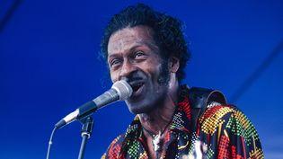 Chuck Berry sur scène à la Nouvelle Orléans en 1981.  (Chuck Fishman / Getty Images)