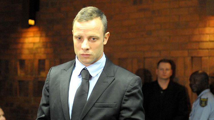 Le Sud-Africain Oscar Pistorius au tribunal de Pretoria