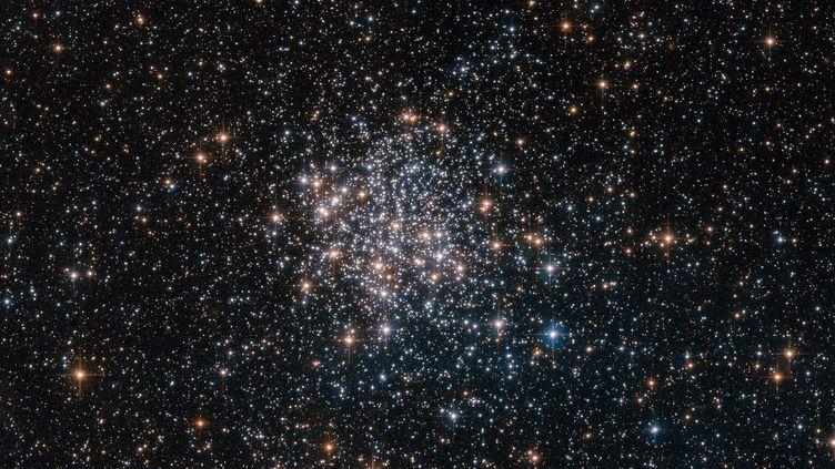 Photographie d'un amas stellaire prisepar le télescope Hubble et publiée le 24 juin 2016 sur le site de la Nasa. (ESA / HUBBLE / NASA)