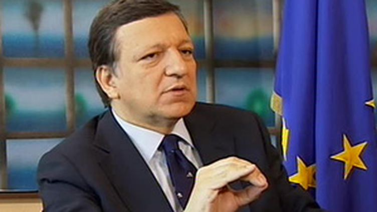 Le président de la Commission de l'UE, le Portugais José Manuel Barroso