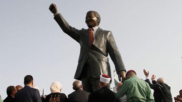 (Nelson Mandela a passé 27 années en prison © MaxPPP)