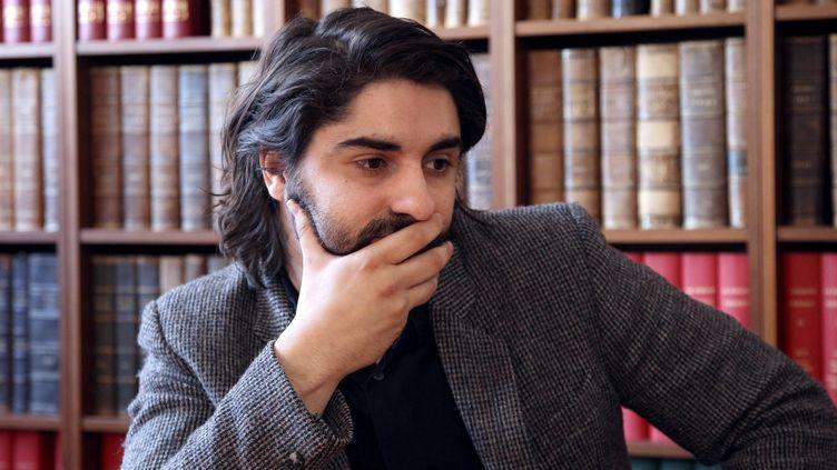 Le journaliste de Médiapart Fabrice Arfi, en avril 2012. (JACQUES DEMARTHON / AFP)