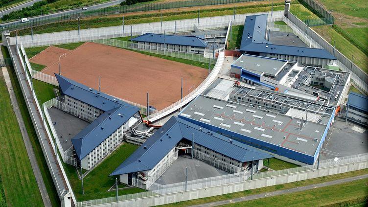 La prison de Sequedin, près de Lille (Nord), en juillet 2008. (  MAXPPP)
