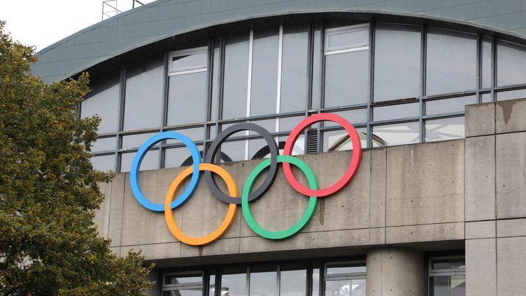 La piscine olympique Georges-Vallerey, construite pour les Jeux Olympiques d'été à Paris en 1924 (LUDOVIC MARIN / AFP)