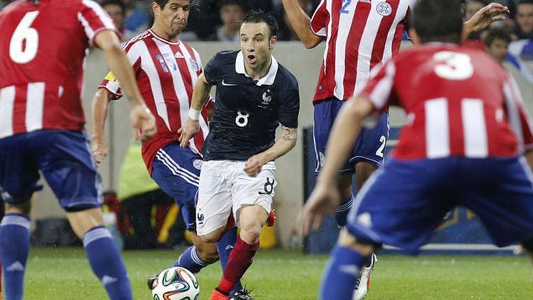 (Mathieu Valbuena, le meilleur Bleu du match encore dimanche © Reuters/Philippe Laurenson)