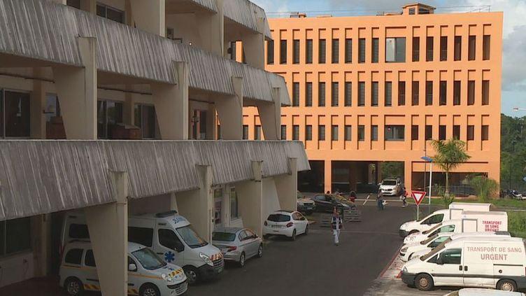 L'hôpital Pierre Zobda Quitman à Fort-de-France en Martinique. (MARTINIQUE 1ERE)