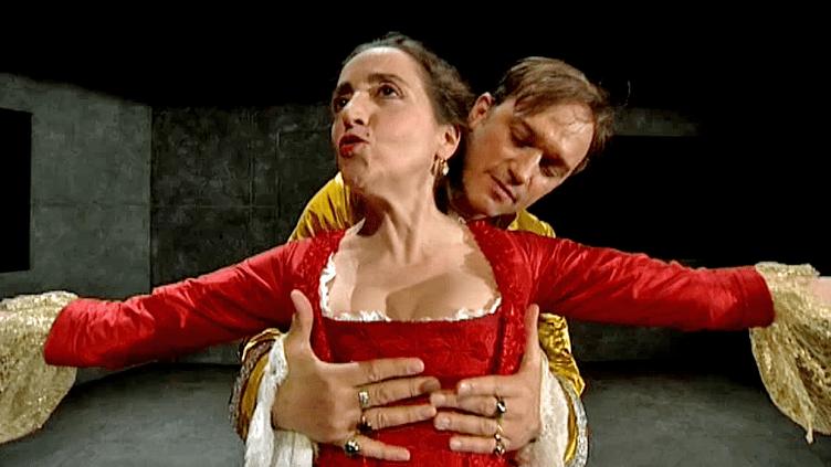 """Dominique Blanc et Vincent Perez embrasent la scène du TNB de Rennes avec """"Les Liaisons dangereuses""""  (France 3 / Culturebox)"""