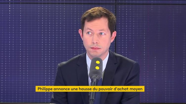 François-Xavier Bellamy, le 8 mai 2019 sur franceinfo (FRANCEINFO)