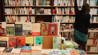 Une librairie en avril 2021. (Illustration). (FABIEN COTTEREAU / MAXPPP)