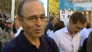 Le chanteur Jean-Jacques Goldman, le 21 septembre 2013 à Marseille (Bouches-du-Rhône). ( FRANCE 3 / FRANCETV INFO)