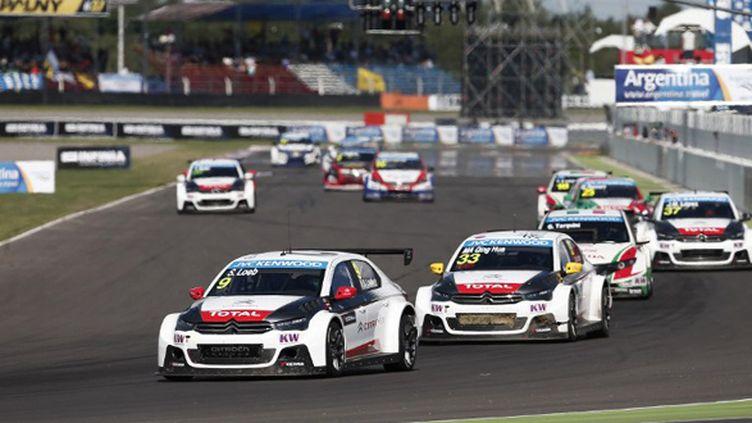 Sébastien Loeb (Citroën) attaque pied au plancher sa 2e saison en WTCC (JEAN MICHEL LE MEUR / JEAN MICHEL LE MEUR;DPPI MEDIA)