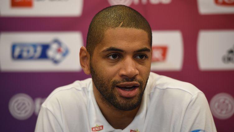 Le joueur de Charlotte, Nicolas Batum (TED ALJIBE / AFP)
