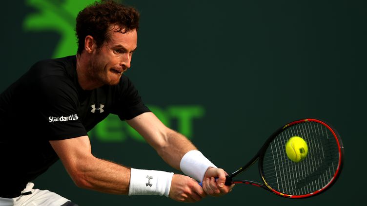 Le N.2 mondial Andy Murray (CLIVE BRUNSKILL / GETTY IMAGES NORTH AMERICA)