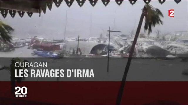 Ouragan Irma : alerte rouge levée en  Guadeloupe