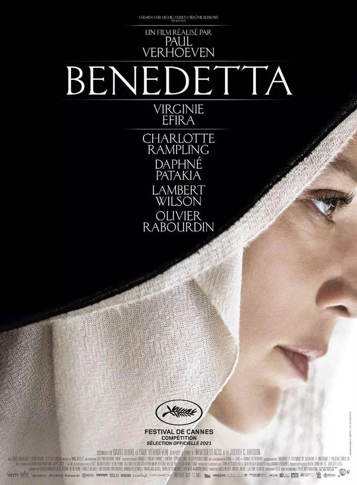 """L'affiche de""""Benedetta"""" de Paul Verhoeven (2020). (PATHE DISTRIBUTION)"""
