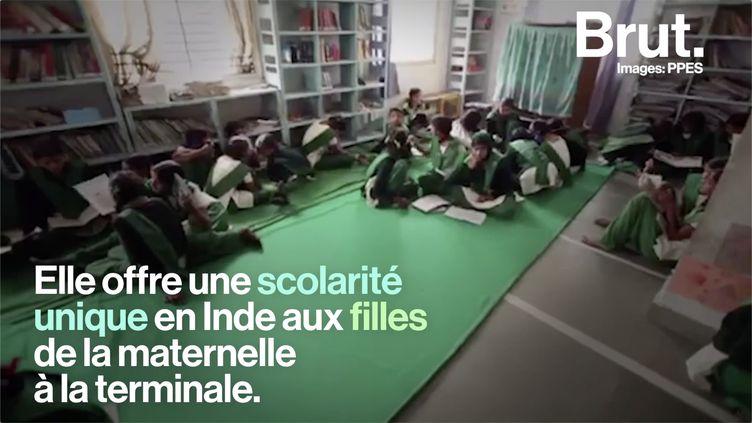 VIDEO. En Inde, une école change le destin des filles qui y sont inscrites (BRUT)