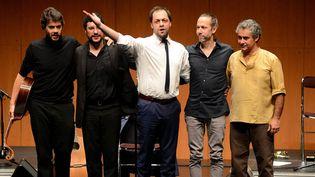 Antonio Zambujo et ses musiciens de Fado à Nantes  (Photpqr/Ouest France)