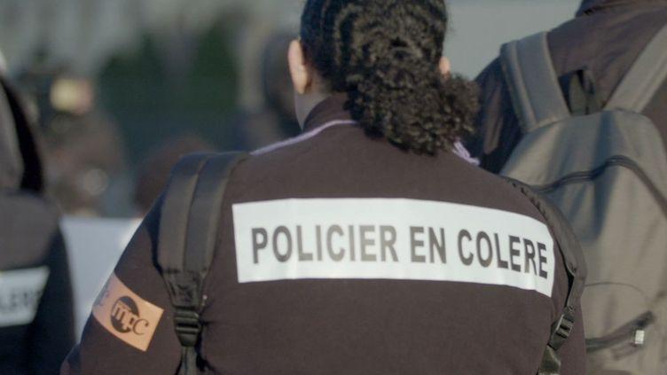 """Capture d'écran du documentaire """"Police, à bout de souffle"""" signé Frédéric Ploquin et Julien Johan.  (COMPAGNIE DES PHARES ET BALISES)"""