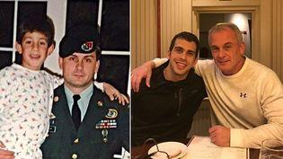 Michael Taylor et son fils Petersont accusés d'avoir aidé Carlos Ghosn à s'évader du Japon. (AFP)