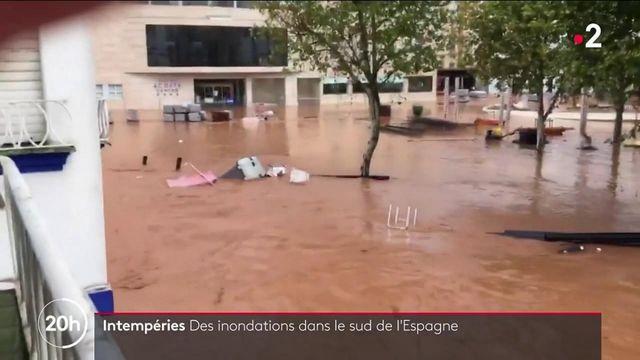 Espagne : le pays à nouveau frappé par des inondations