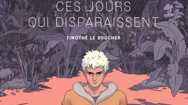"""La couverture de """"Ces jours qui disparaissent"""" (Glénat), de Timothé Le Boucher, prix des libraires de BD  (Timothé Le Boucher / Glénat)"""