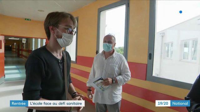 Rentrée : l'école face au défi sanitaire