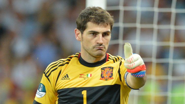 Iker Casillas au milieu d'un scandale ? (GABRIEL BOUYS / AFP)