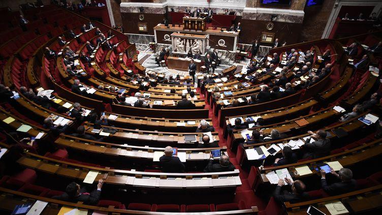 La réforme constitutionnelle a notamment pour objectif de réduire le nombre de parlementaires. (LIONEL BONAVENTURE / AFP)