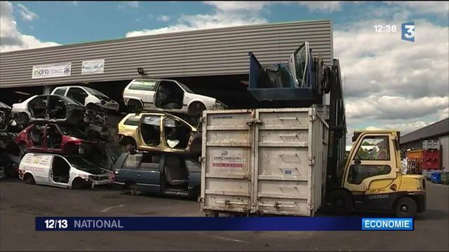 Le recyclage automobile, un business en plein essor