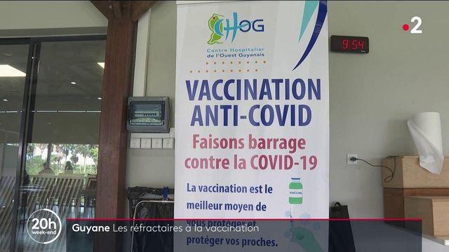Guyane : la campagne de vaccination patine, les habitants sont sceptiques